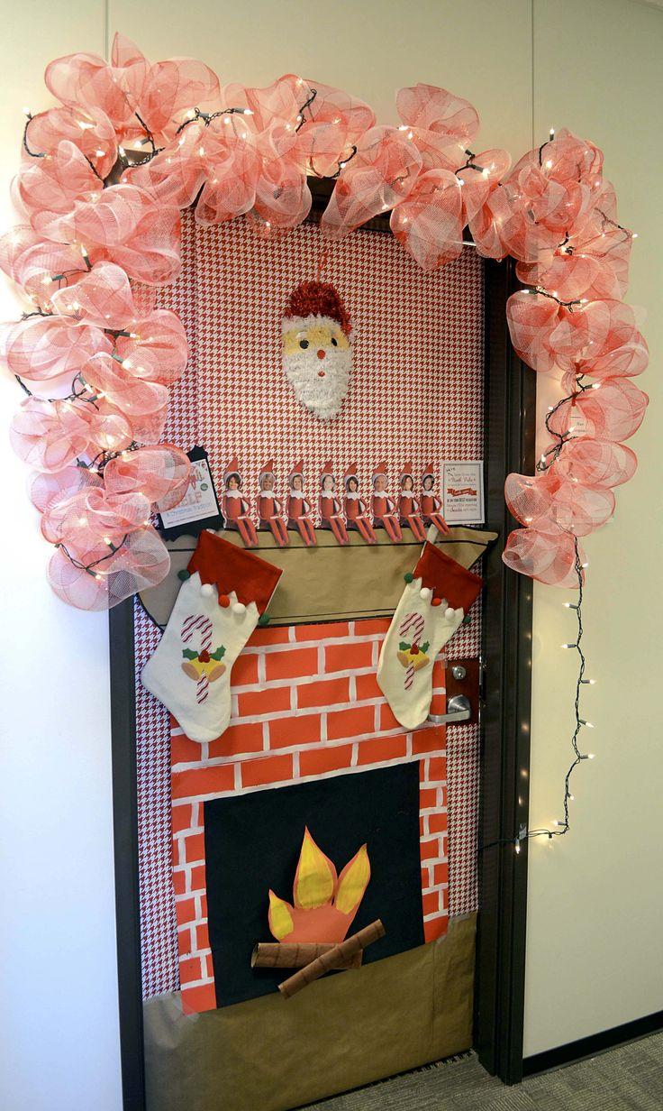 best 25 decorated doors ideas on pinterest christmas. Black Bedroom Furniture Sets. Home Design Ideas