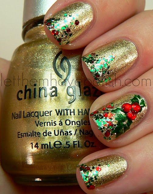 China Glaze Holiday Nails by Lilbitty1