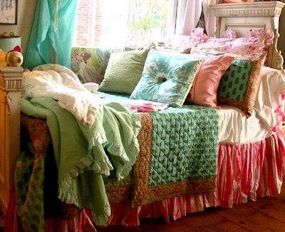 Color inspiration & Bed inspiration