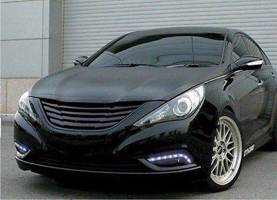 2x LED DRL Driving Daytime Running Day Fog Lamp Light FOR Hyundai Sonata 2012