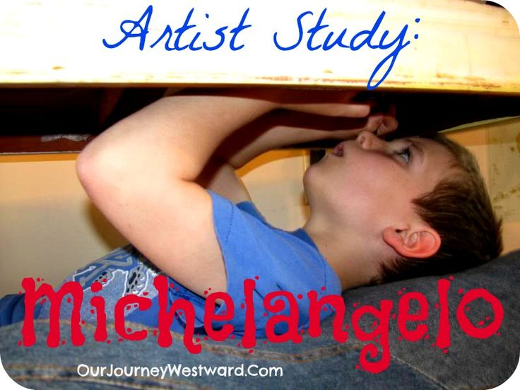 Michelangelo Artist Study from @Cindy West (Our Journey Westward)
