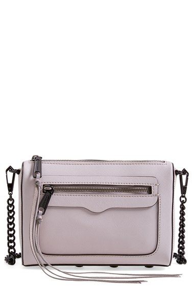 Rebecca Minkoff Avery Crossbody Bag Bags Grey And