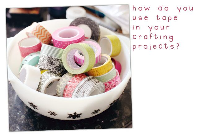 tips on how to use washi tape by Shimelle :)