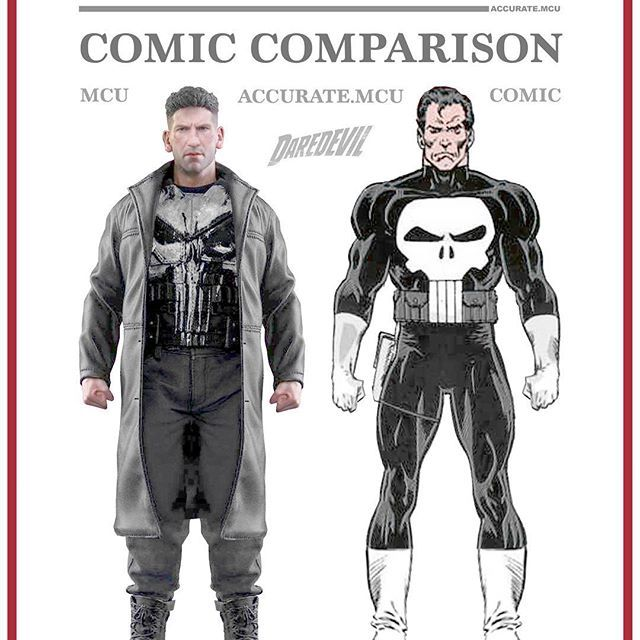• THE PUNISHER - COMIC COMPARISON • How hyped are you for the Punisher solo series ??? rate from 1/10 in the comments below ✌️ ———————————————————— #marvel #mcu #ironman #captainamerica #thor #hulk #blackwidow #antman #spiderman #avengers #disney #guardiansofthegalaxy #buckybarnes #infintywar #spidermanhomecoming #thorragnarok #blackpanther #marvelcinematicuniverse #accuratemcu #doctorstrange #starlord #defenders #thanos #punisher #gotgvol2 ———————————————————— Feel free to repost but make…