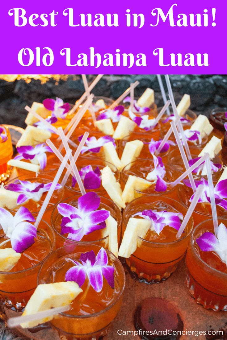 Old Lahaina Luau Maui, Hawaii, USA #maui #hawaii #luau