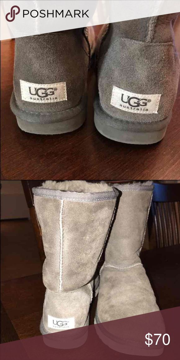 Size 8 Grey Ugg Boots Size 8 Grey Ugg boots UGG Shoes Winter & Rain Boots