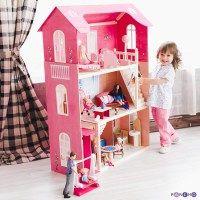 Домики для барби, для кукол размером 26-30см. Каталог интернет-магазина.