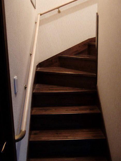 階段手すりの取り付け - 写真共有サイト「フォト蔵」