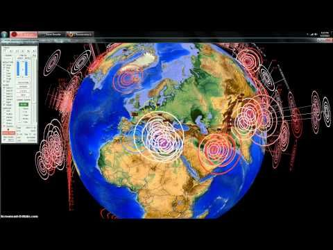 5/23/2013 -- Global Earthquake Overview -- Pacific unrest -- Volcanic EQ... fascinating