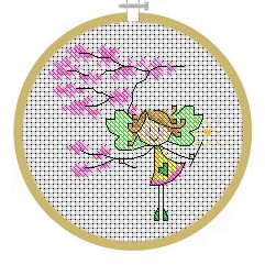 May Fairy - PDF Cross Stitch Patterns - Instant Download