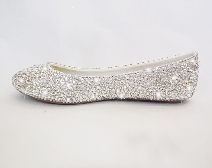 Bling Swarovski Crystal Comfortable Bridal Prom by BlingNbliss, $499.99