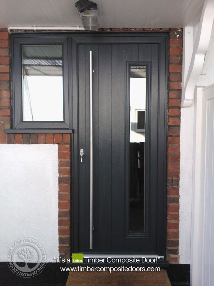 To Truly Appreciate And Visualise How Your New Door Will Look In Your Home,  A Picture Of A Real Solidor Composite Door, Fitted Into A Real Home, ...
