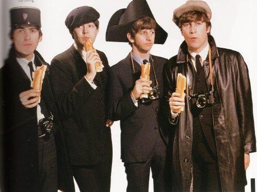 The Beatles. Baguettes.