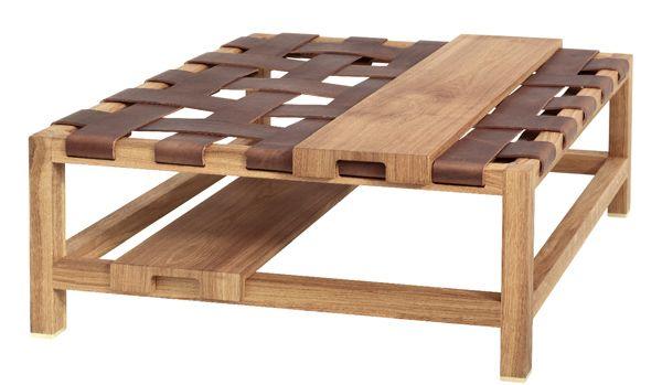 Charming Daniel Heeru0027s Wood And Leather Pieces | Leather Pieces, Woods And Wood  Furniture