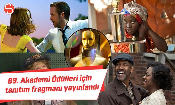 89. Akademi (Oscar) Ödülleri için hazırlanan video yayınlandı #oscarödülleri #fragman #akademiödülleri