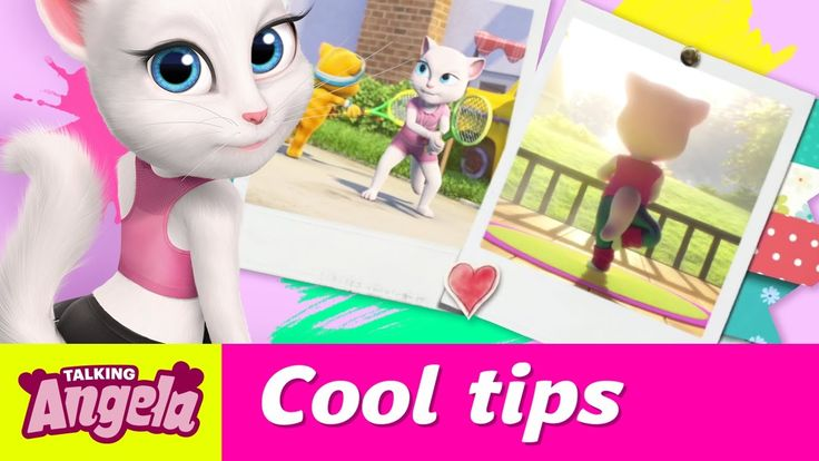 Talking Angela's Cool Tips to De-Stress