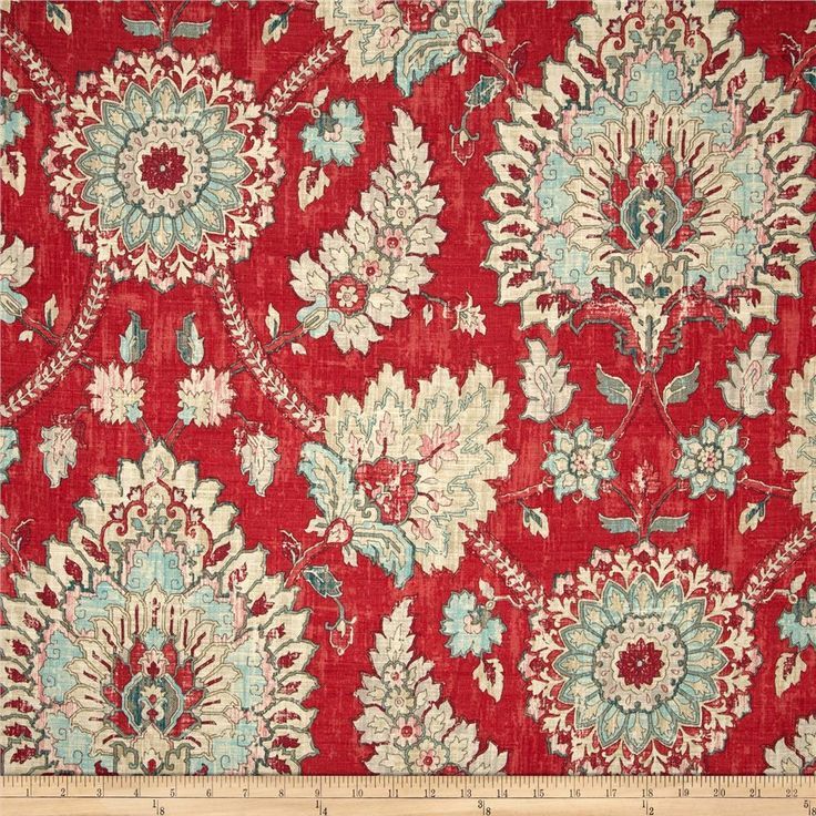Waverly Clifton Hall Strawberry. Designer PillowUx/ui DesignerHome Decor  FabricToss ...