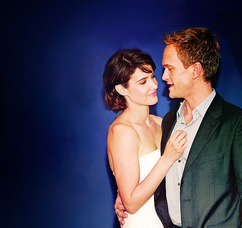 Barney and Robin - i know that they get together but i havent gotten to that episode yet...so excited!
