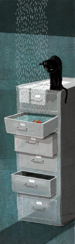 Illustration by Alessia Mannini, via Behance