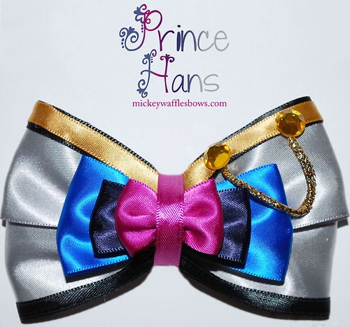 Mickey Waffles Bows - Prince Hans