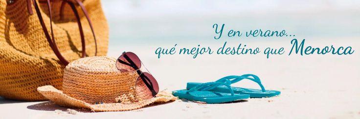 (JULIO-2015)  Y EN VERANO... ¿QUÉ MEJOR DESTINO QUE #MENORCA? www.mnkvillas.com/  MNK Villas - Alquiler de casas y villas vacacionales, en Menorca - Islas Baleares (España). info@mnkvillas.com (+34) 971 153 571 #alquiler #casas #villas #holiday #Spain #España #viajar #vacaciones #semanasanta #verano #playa