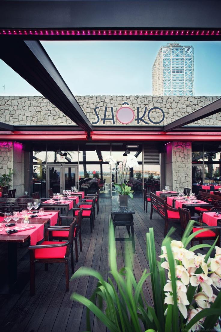 SHÔKO Barcelona   Restaurant & Lounge Club at Barceloneta beach   Paseo maritimo de la Barceloneta  36,  08003 Barcelona