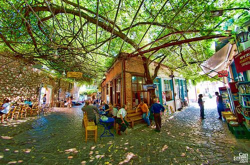 GREECE CHANNEL | Agiasos Village (Αγιάσσος), Lesvos, Greece by Can Gurel on flickr