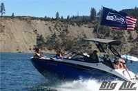 Big Air Wakeboard tower Flag Holder - Choose from several 3' x 5' flag options including NFL