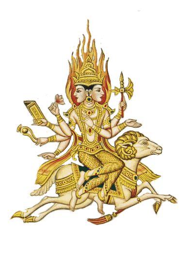 Agni - The God of Fire and Sacrifices