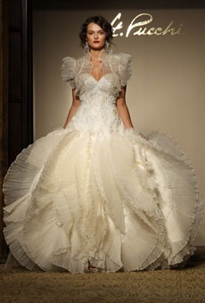 St. Pucchi - Fall 2012   Bridal Runway Shows   Wedding Dresses and Style   Brides.com : Brides
