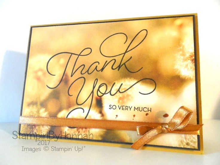 Thank you card usng So Very Much from Sale-a-bration 2017     (free during Sale-A-Bration with a $50 order; ends 3/31/17)
