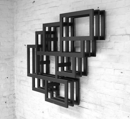 Frames Wall Shelf By Gerard De Hoop Photo