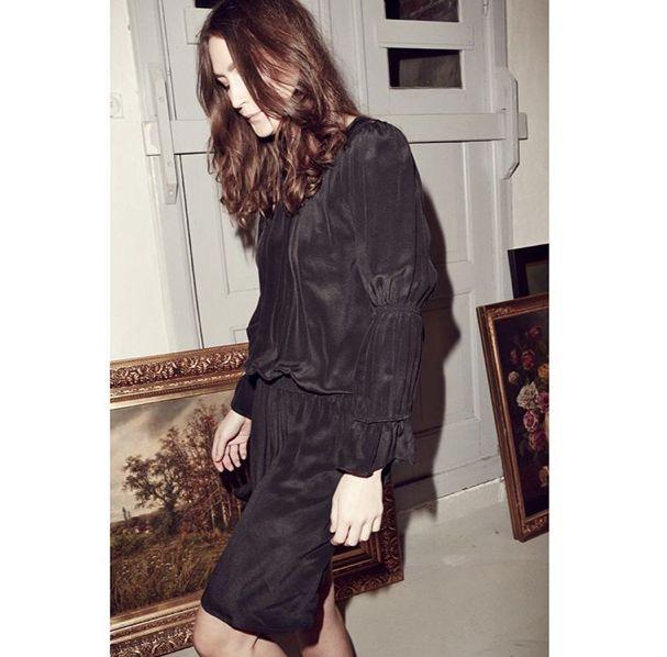 Skall studio Joni silk dress AW15