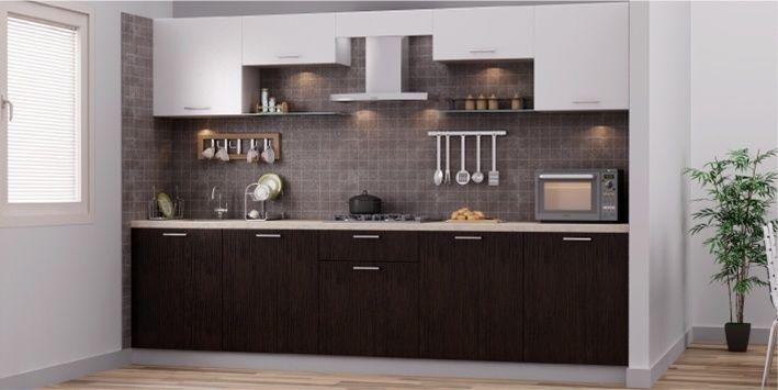 Modern Straight Kitchen Design All About Kitchen In 2019