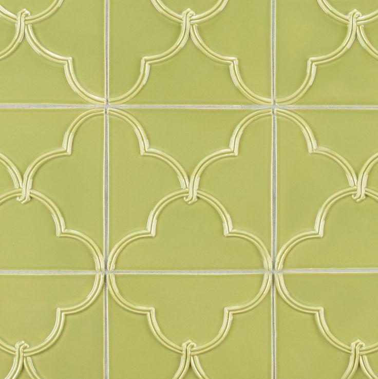 127 best images about quadrefoil on pinterest ceramics Aqua Kitchen Backsplash Color Gray Tone Tile Mosiac