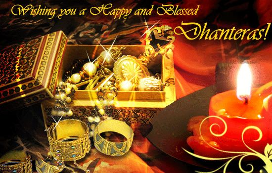 "God's blessing may come as a surprise.. And how much you receive Depends on how much your Heart can believe.  May you be blessed beyond what you expect.. ""Shubh Dhanteras""."