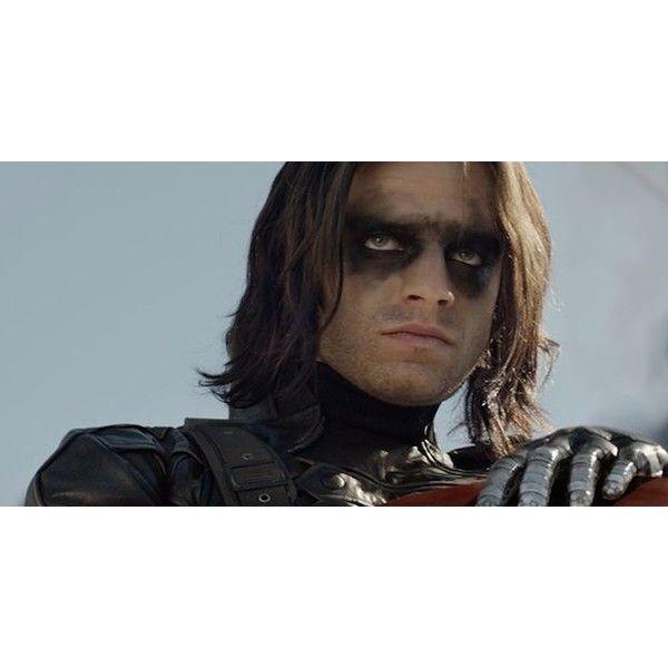 Cienka czarna linia czyli zwierza poradnik makijażowy dla mężczyzn ❤ liked on Polyvore featuring avengers y captain america