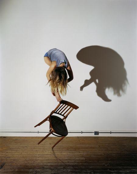Sam Taylor-Wood. Bram Stoker's Chair View V, 2005.