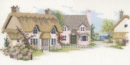 Summer Lane by Derwentwater Designs (2 of 10), counted cross stitch kit