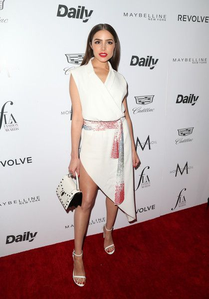 """Olivia Culpo Photos - Model/actress Olivia Culpo attends the Daily Front Row """"Fashion Los Angeles Awards"""" at Sunset Tower Hotel on March 20, 2016 in West Hollywood, California. - The Daily Front Row 'Fashion Los Angeles Awards' 2016 - Arrivals"""