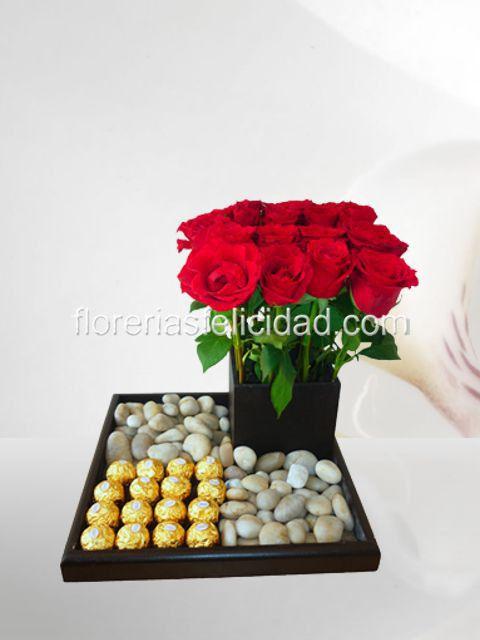 Arreglos florales de rosas - flores a domicilio DF   envios de flores a polanco