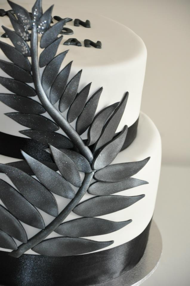 New Zealand Wedding cake, by Comper Cakes