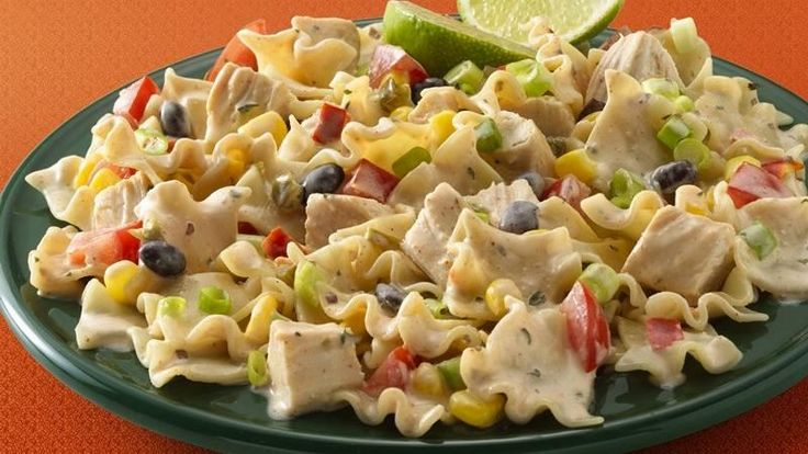 Chipotle Ranch Chicken and Pasta Salad | Recipe