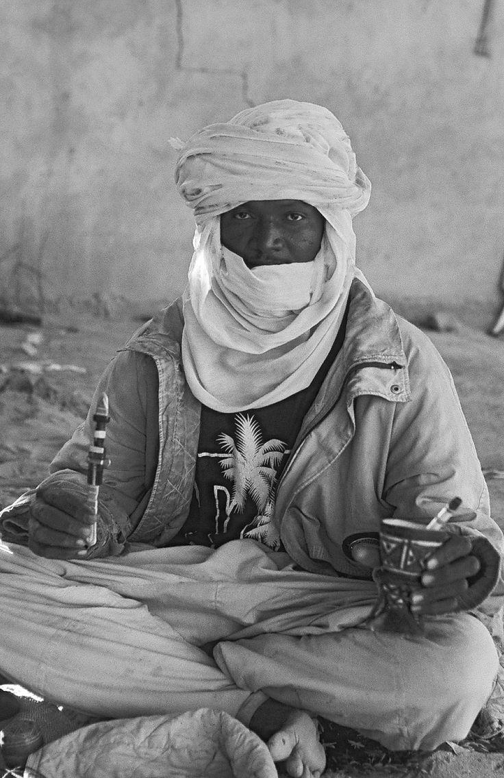 Targi in der Nähe von Ghat. Libyen 2001