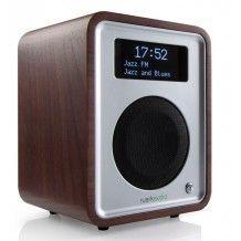 Ruark R1 MK3 DAB+ bluetooth. Design radio met walnoten behuizing en voorzien van bluetooth 3.0, DAB+ en FM tuner,