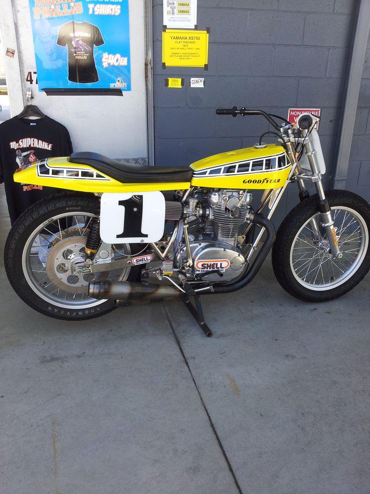 Classy Yamaha flat tracker spotted at Phillip Island Grand Prix Circuit -Island Classic Race Meeting