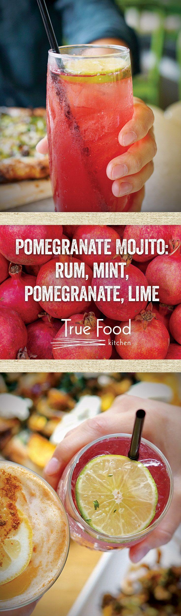 A Pomegranate Party For Your Taste Buds. Dinner MenuTrue ...