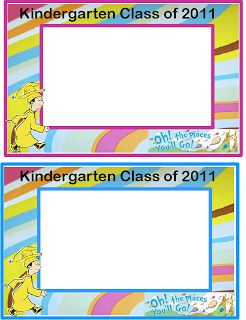 Little Warriors: Kindergarten Graduation Gift Oh the Places You'll Go!