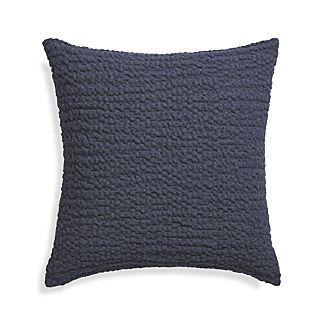"""$49.95 Pebble Indigo 18"""" Pillow"""