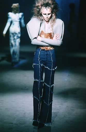 "Alexander McQueen - 1997 F/W rtw - ""It's a Jungle Out There"""